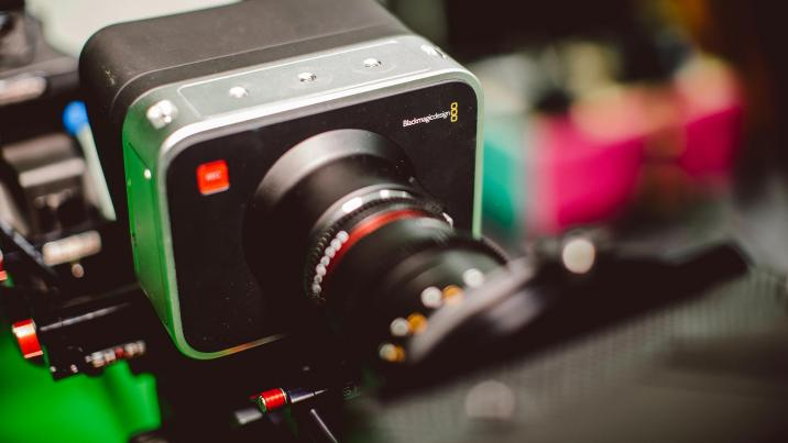 Black magic camera