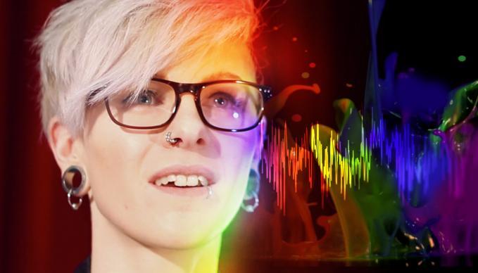 Sophie Kirkham, SAE Institute, Audio Production Degree, Synesthetic Sonofication System