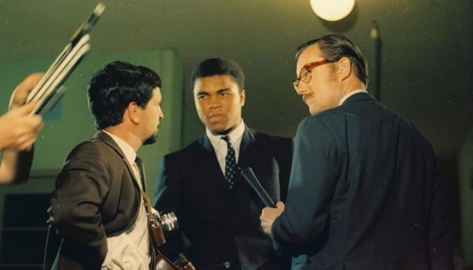 Alan Whicker meets Muhammad Ali
