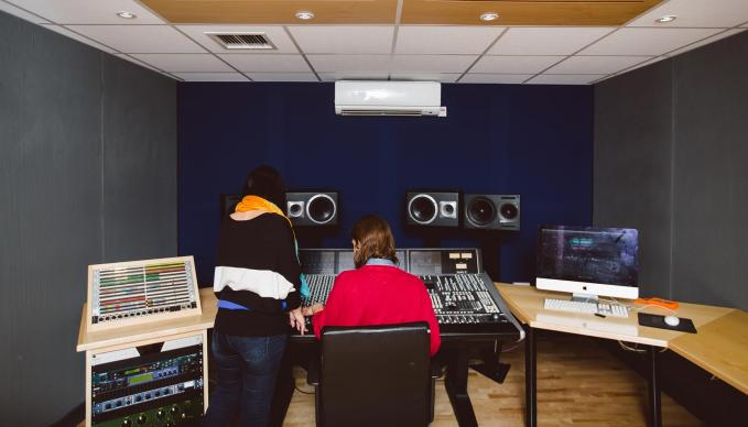 Audio studios