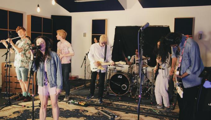 SAE Oxford Audio and Film students work to Funnel Music's