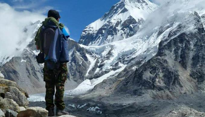 Lecturer Luke Osbond raises crucial funds for education in the foot hills of Everest...